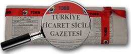 Türkiye Ticaret Sicili Gazetesi